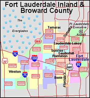 Broward Zip Code Map | Zip Code MAP